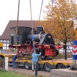 Lokomotive Verladung 033